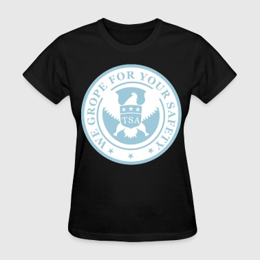 TSA Grope Safety - Women's T-Shirt