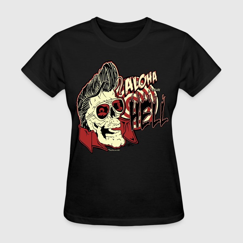 Aloha From Hell - Women's T-Shirt