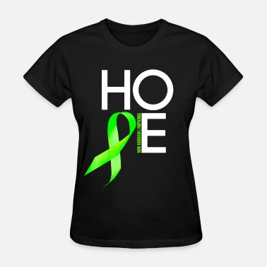 Support Non Hodgkins Lymphoma Cancer Awareness non_hodgkin_lymphoma_hope - Women's T-Shirt