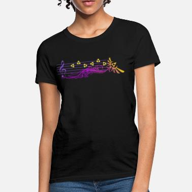 Ocarina Of Time Zelda's Lullaby  - Women's T-Shirt