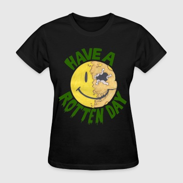 Zombie Smiley - Women's T-Shirt