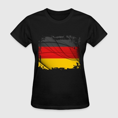Deustschland Flag - Women's T-Shirt