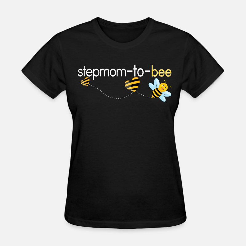 Step Mom T-Shirts - Stepmom To Bee.. - Women's T-Shirt black