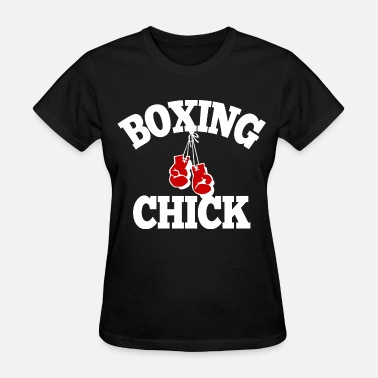 Kickboxing Chick Boxing Chick - Women's T-Shirt