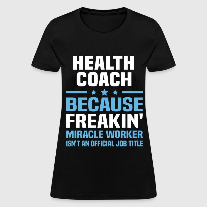health coach by bushking spreadshirt