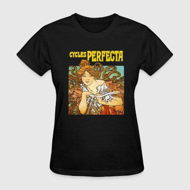 Alphonse Mucha - Cycles Perfecta - Women's T-Shirt
