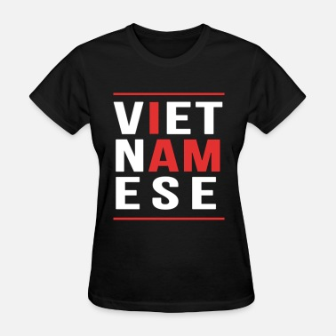 Swag I Am Vietnamese I AM VIETNAMESE (red with bands) - Women's T-Shirt
