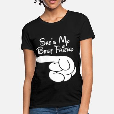 Besties She's My Best Friend - Women's T-Shirt