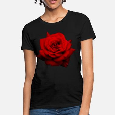 Rose red rose - Women's T-Shirt