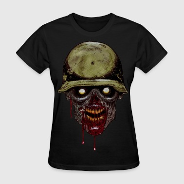 Zombie Soldier - Women's T-Shirt