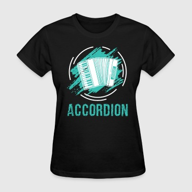 Concertina Accordion Concertina Melodeon Piano Accordion Gift - Women's T-Shirt