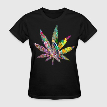 Trippy Weed - Women's T-Shirt