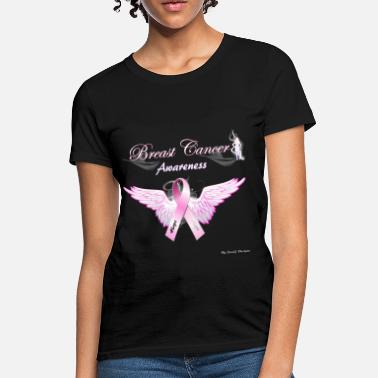 Breast Cancer Ribbon Breast Cancer Awareness Shirt  - Women's T-Shirt