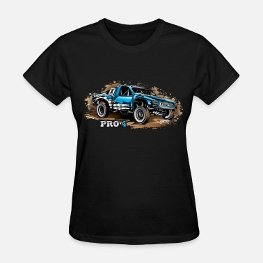 Race Truck Pro4 Race Truck Blue - Women's T-Shirt