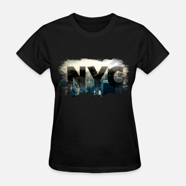 City nyc new york city skyline - Women's T-Shirt