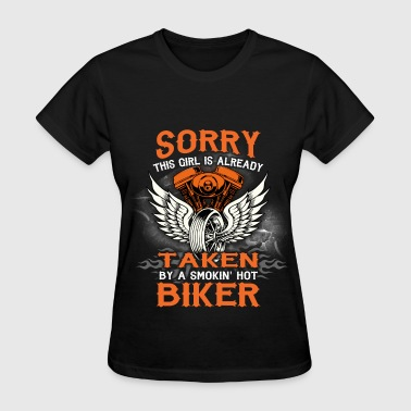 Motorcycles - Taken Biker - Women's T-Shirt