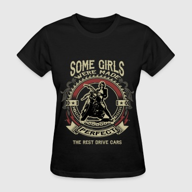 Motorcycle Girl - Perfect - Women's T-Shirt