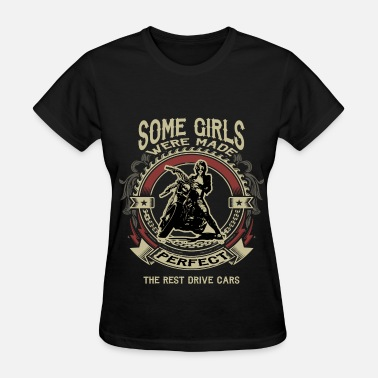 Motorcycle Girl Art Motorcycle Girl - Perfect - Women's T-Shirt