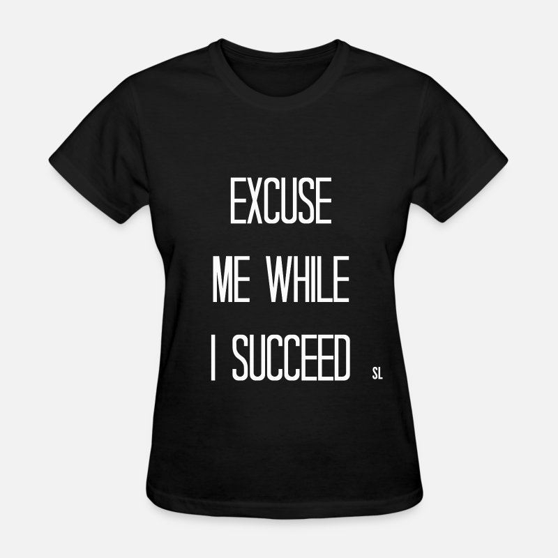 Black History Month T-Shirts - Successful Black Women Quotes T-shirt - Women's T-Shirt black
