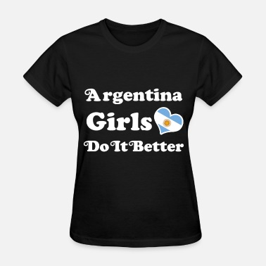 Argentina Girls argentina girl 116.png - Women's T-Shirt