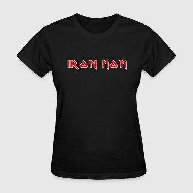 Maiden Iron Mom logo - Women's T-Shirt