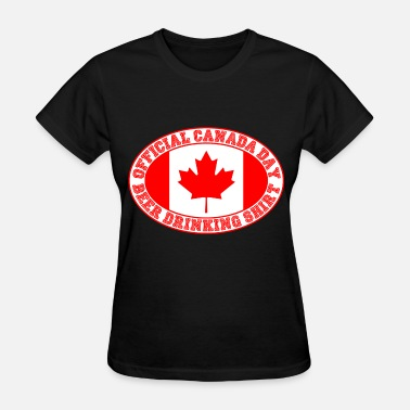 Canada Day OFFICIAL CANADA DAY BEER DRINKING SHIRT - Women's T-Shirt