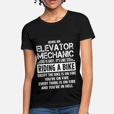 Elevator Elevator Mechanic - Women's T-Shirt