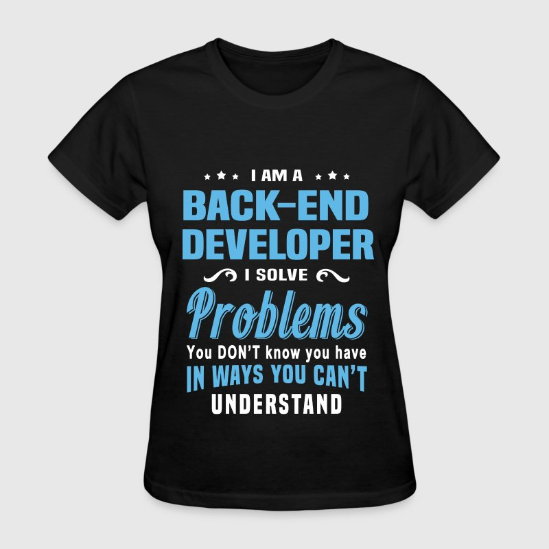 Back-End Developer - Women's T-Shirt