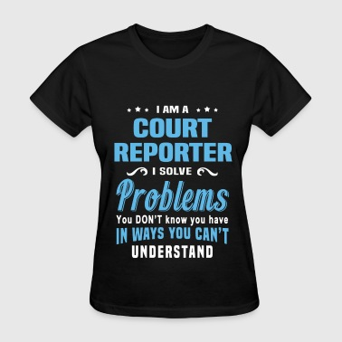 Court Reporter - Women's T-Shirt