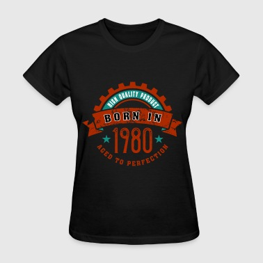 Born in the year 1980 c - Women's T-Shirt