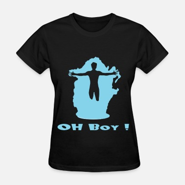 Leap S.Beckett Oh,Boy ! - Women's T-Shirt