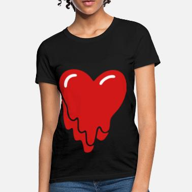 Melting Heart Heart Melt - Women's T-Shirt