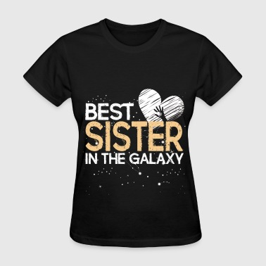 Best Sister in the galaxy - Women's T-Shirt