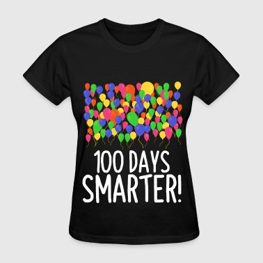 100 Balloons 100th Day of School Teacher/Student - Women's T-Shirt