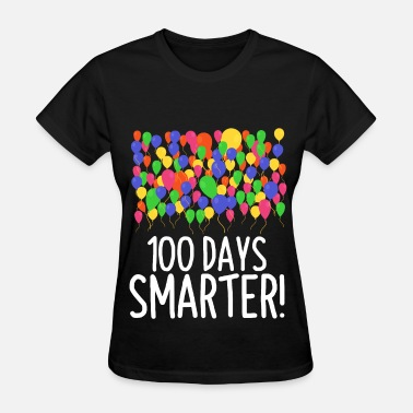 100th Day Of School 100 Balloons 100th Day of School Teacher/Student - Women's T-Shirt