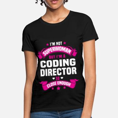 Guy Code Coding Director - Women's T-Shirt