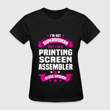 Printing Screen Assembler - Women's T-Shirt
