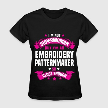 Embroidery Patternmaker - Women's T-Shirt