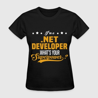 .Net Developer - Women's T-Shirt