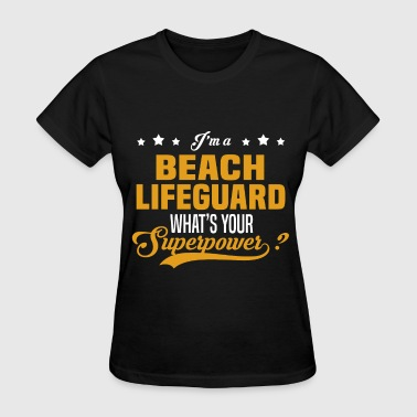 Lifeguard Girl Beach Lifeguard - Women's T-Shirt