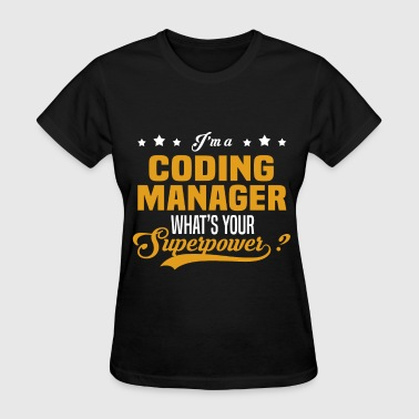 Coding Manager - Women's T-Shirt