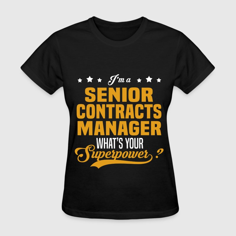 Senior Contracts Manager - Women's T-Shirt