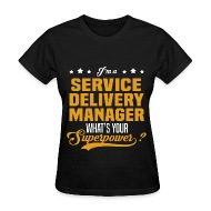 Service Delivery Manager   Womenu0027s T Shirt