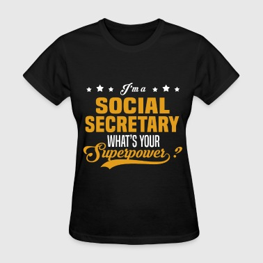 Social Secretary - Women's T-Shirt