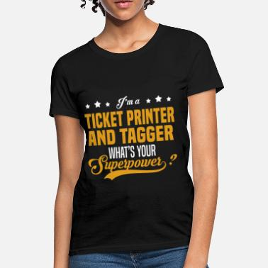 Tagger Ticket Printer And Tagger - Women's T-Shirt
