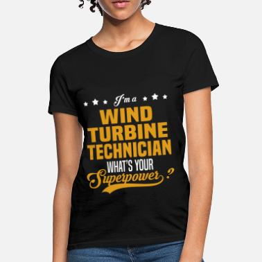 Wind Wind Turbine Technician - Women's T-Shirt