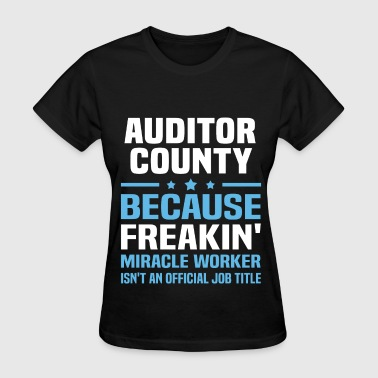 Auditor County - Women's T-Shirt