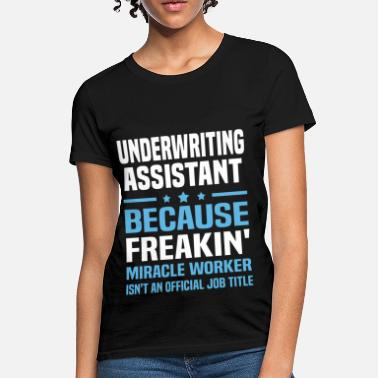 Apparel Underwriting Assistant - Women's T-Shirt