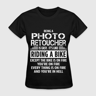Photo Retoucher - Women's T-Shirt