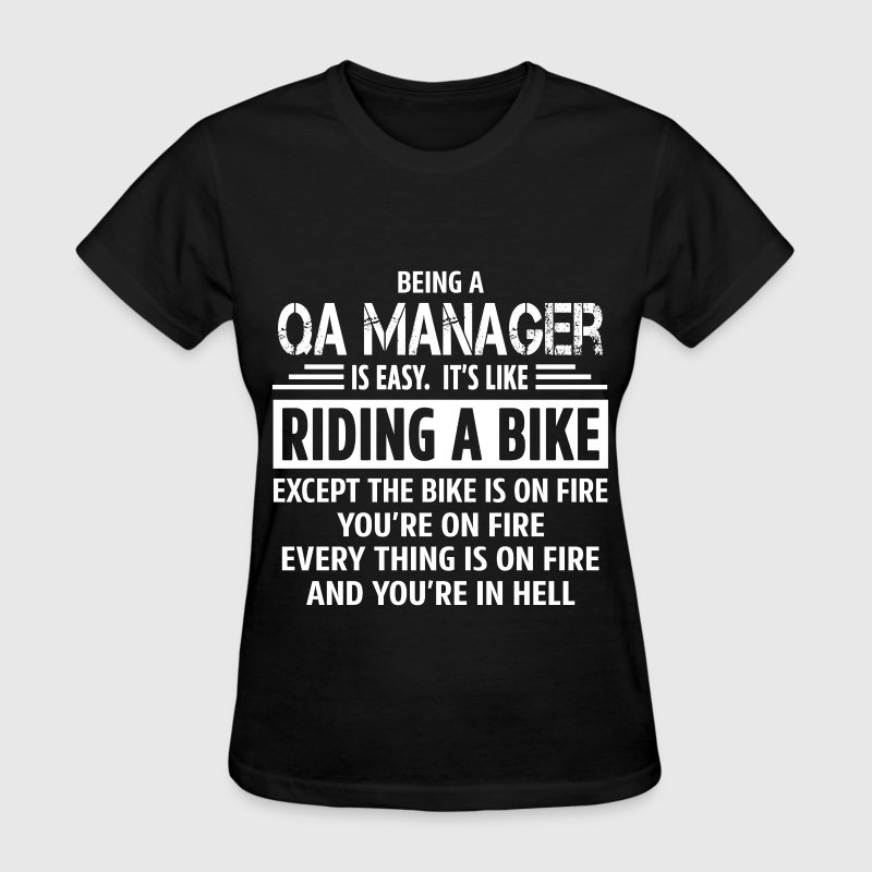 QA Manager - Women's T-Shirt